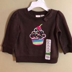 NWT Jumping Beans Sweatshirt